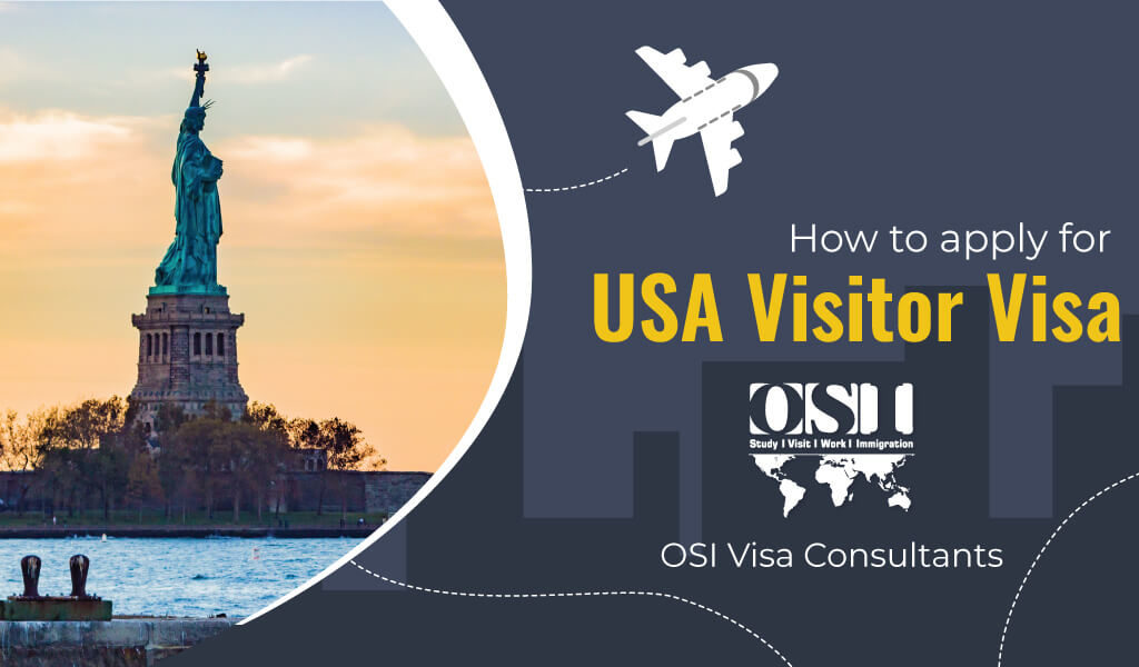 How to apply for USA Visitor Visa?