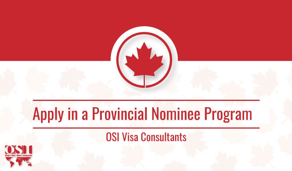 Provincial Nomination Program in ...